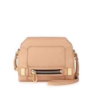 Botkier Honore Small Zip Leather Crossbody Clutch